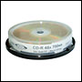 CD-R vierge 48x FTI Gold EP Archival 700Mo en Spindle 10 pcs