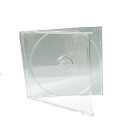 100 Boitiers CD Jewel Case 10mm Transparent ProPack