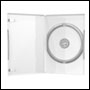 Boitier DVD Simple Transparent 14mm en pack de 50