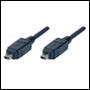 Cable Fire Wire 4M/4M 1,5m Noir - OUF44