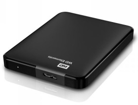 Disque Dur Externe 2.5 Western Digital USB 3.0 Elements 2To - Noir