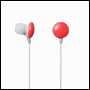 Ecouteurs Intra auriculaire Elecom - Rouge - dstk 11033